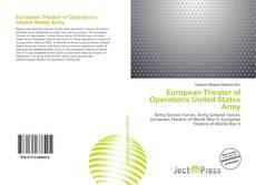 Capa do livro de European Theater of Operations United States Army