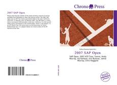 Bookcover of 2007 SAP Open