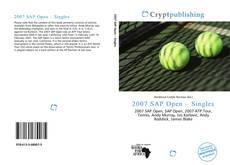 Bookcover of 2007 SAP Open – Singles