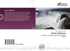 Обложка Litsea leefeana