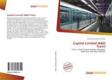 Capitol Limited (B&O Train)的封面
