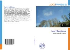Bookcover of Henry Rohlman