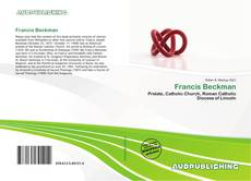 Обложка Francis Beckman