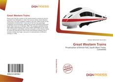 Great Western Trains kitap kapağı