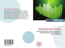 Bookcover of Patriotisme économique