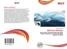 Bookcover of Martinus Rørbye