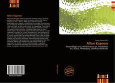 Couverture de Allan Kaprow
