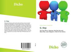 Bookcover of G. Dep
