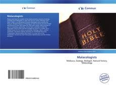 Capa do livro de Malacologists