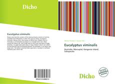 Eucalyptus viminalis的封面