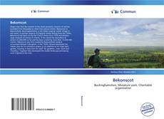 Capa do livro de Bekonscot