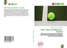 2007 Open de Moselle – Singles的封面