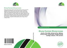 Bookcover of Drury Curzon Drury-Lowe
