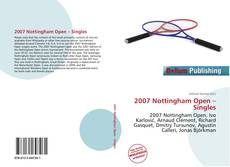 Bookcover of 2007 Nottingham Open – Singles