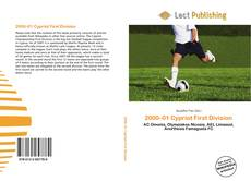 Bookcover of 2000–01 Cypriot First Division