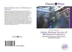 Bookcover of Indian Railway Service of Mechanical Engineers