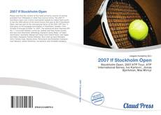 Bookcover of 2007 If Stockholm Open
