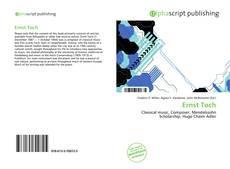 Bookcover of Ernst Toch