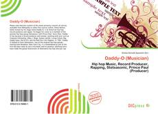 Capa do livro de Daddy-O (Musician)
