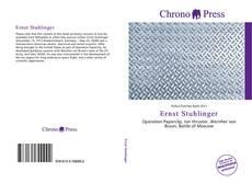 Buchcover von Ernst Stuhlinger
