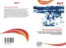 Обложка Christof Unterberger