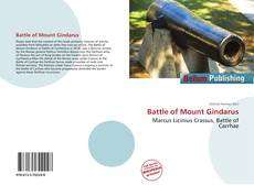 Portada del libro de Battle of Mount Gindarus