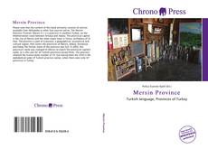 Bookcover of Mersin Province
