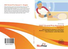 Bookcover of 2007 Grand Prix Hassan II – Singles