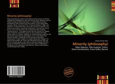 Bookcover of Minority (philosophy)