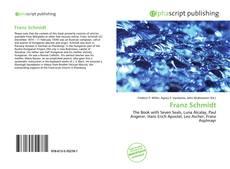 Buchcover von Franz Schmidt