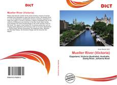 Bookcover of Mueller River (Victoria)
