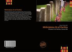 Bookcover of Mithridates III of Parthia