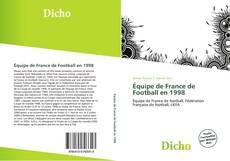 Capa do livro de Équipe de France de Football en 1998