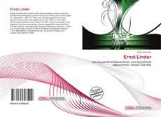 Buchcover von Ernst Linder
