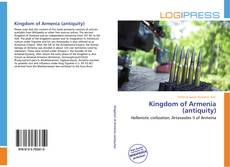 Buchcover von Kingdom of Armenia (antiquity)