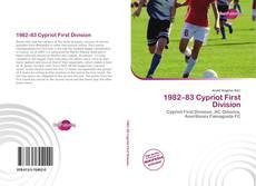 Portada del libro de 1982–83 Cypriot First Division