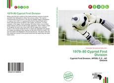 Portada del libro de 1979–80 Cypriot First Division
