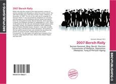 2007 Bersih Rally kitap kapağı