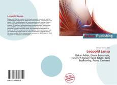 Обложка Leopold Jansa