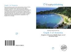 Bookcover of Gagik I of Armenia