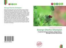 Обложка George Charles Champion