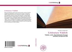 Buchcover von Littérature Yiddish