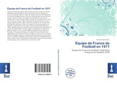 Capa do livro de Équipe de France de Football en 1971