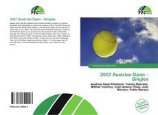 Copertina di 2007 Austrian Open – Singles