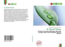G. David Tilman的封面