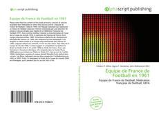 Bookcover of Équipe de France de Football en 1961