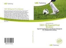 Portada del libro de 1957–58 Cypriot First Division