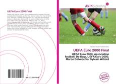 Bookcover of UEFA Euro 2000 Final