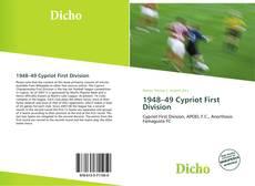 Portada del libro de 1948–49 Cypriot First Division