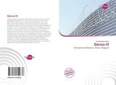 Capa do livro de Darius III